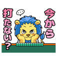 "Animal sticker of ""Mahjong ZOO"""