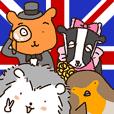 ハリネズミのハリーと仲間たち in the UK