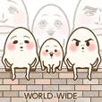 THREE EGGS  -WORLD WIDE-