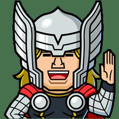 Marvel Mini Heroes Line Stickers Line Store