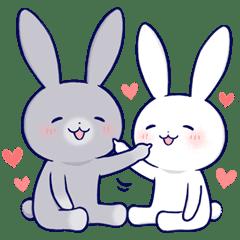 Lovey-dovey rabbit 3 (English)...