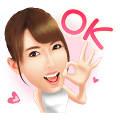 Yui Hatano Official Sticker