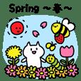 春を楽しむ!季節スタンプ
