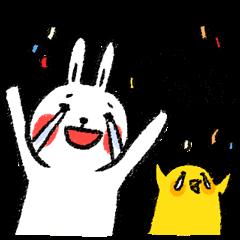 懶散兔與啾先生的OS人生 3