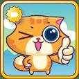 Ringer Ginger Kitty Cat