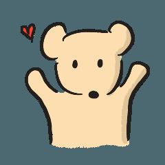中黃熊的日常