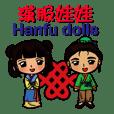 Hanfu dolls