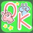 いい子&おバカうさぎ【よく使う言葉】muku