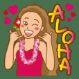 Aloha! Hula girls