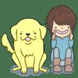 大型犬との日常