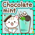 Natural animals, Chocolate mint english