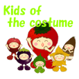 Kids of the costume