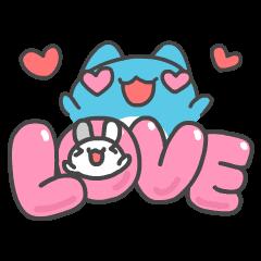 สติ๊กเกอร์ไลน์ BugCat-Capoo: Tutu in Love