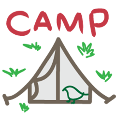 Camping Life camping Sticker Decal