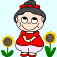 "Cute chubby-san ""summer"""