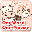 One word / One phrase (Cow)