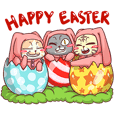CatRabbit ; Happy Easter