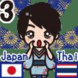 Communicate in Japanese & Thai! KIMONO 3