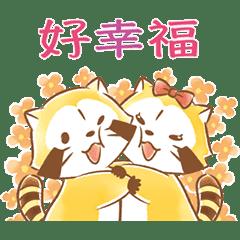 小浣熊&莉莉☆柔情LOVE♪