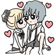 Lovers' Sticker
