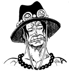 ONE PIECE Disgusting face