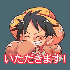 ONE PIECE MESHI Sticker