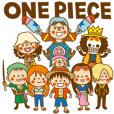 ONE PIECE ✖ toodle doodle コラボスタンプ