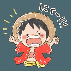 ONE PIECE yurukawa sticker part2