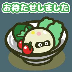 Japan Potatosalad Association Sticker
