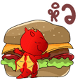 Red Dragon, Big Stickers