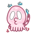 Octopus Sticker!!TAKOSUTA