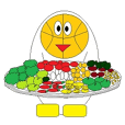 Basketball mascot sticker part3