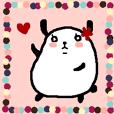 Maru usa panda _chan