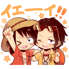 ONE PIECE STICKER[SUMMER]
