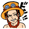 ONE PIECE  男前五人衆参上 ドン!!