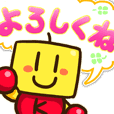 Kairosoft's illustration sticker2