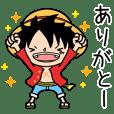 シャカリキに動く★ONE PIECE★