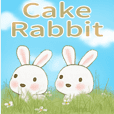 ケーキ(ウサギ)3-日常