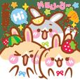 櫻桃麻的兔兔寶貝們:酷比 / 草莓 / 晨晨