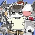 にゃんこまちゃん~紙人形風~2