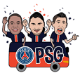 Paris Saint-Germain Official Stickers