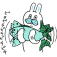 OKAME Sticker 4 -More rabbit SASAKI-