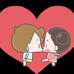 啾啾妹與卡爾-甜蜜蜜系列2.0 再版