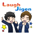 LAUGHJIGEN funny sticker