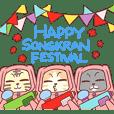 CatRabbit ; Songkran