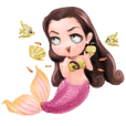 Mini mermaid by PARTIDA