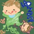ゆるい赤ちゃんの日常【家族集合編】