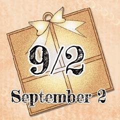 9月2日記念日BIGスタンプ