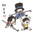 ONE PIECE ASLスタンプ