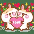 櫻桃麻的兔兔寶貝:酷比v.s.草莓 - 戀愛篇
